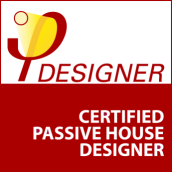 Certified Passive House Designer Badge