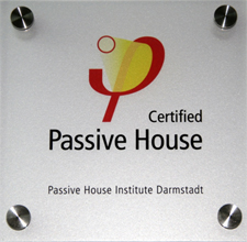 Certified Passive House badge